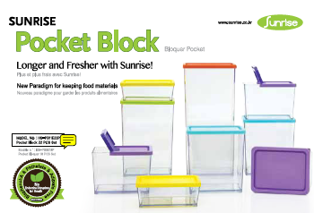 Sunrise Pocket Block Combination 9 Sets